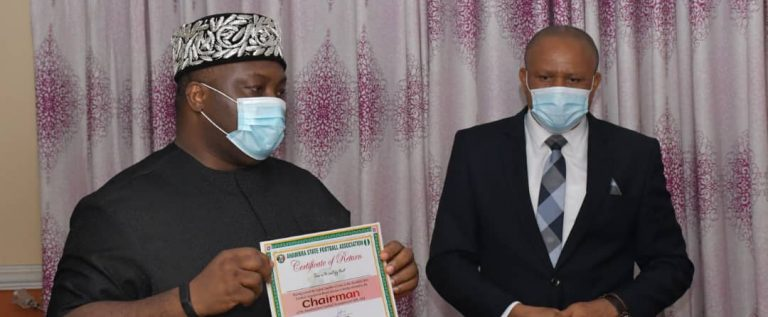 Anambra State FA Electoral Committee Inaugurates Ubah, Twelve Others