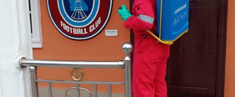 2020/2021 NPFL Season: Akwa United Fumigate Camp Ahead Of New Campaign