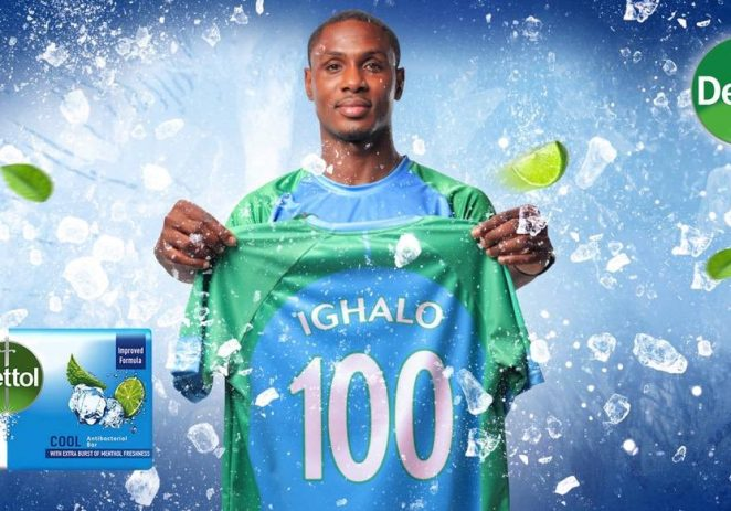 Ighalo Becomes Dettol Brand Ambassador