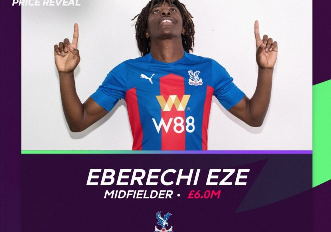 Eberechi Eze Reveals Why He Joined Crystal Palace