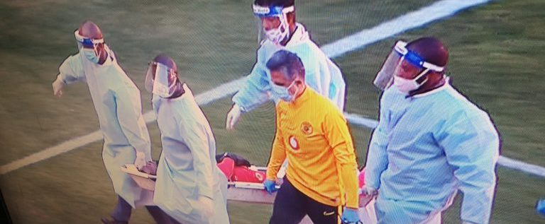Super Eagles Goalkeeper Suffers Nasty Injury In League Defeat
