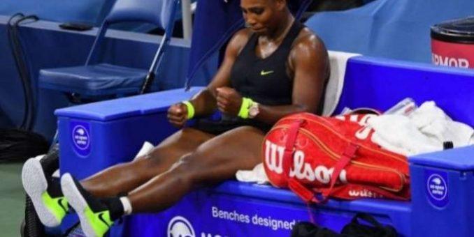 Serena Williams Frustrated After Losing Against Maria Sakkari