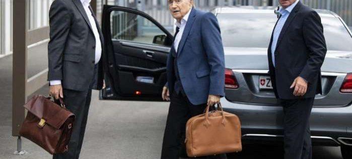 Sepp Blatter Questioned In Switzerland Over $2 Million FIFA Corruption