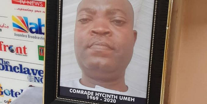 NUJ Opens Condolence Register As Tributes Pour In For Late Hyacinth Umeh