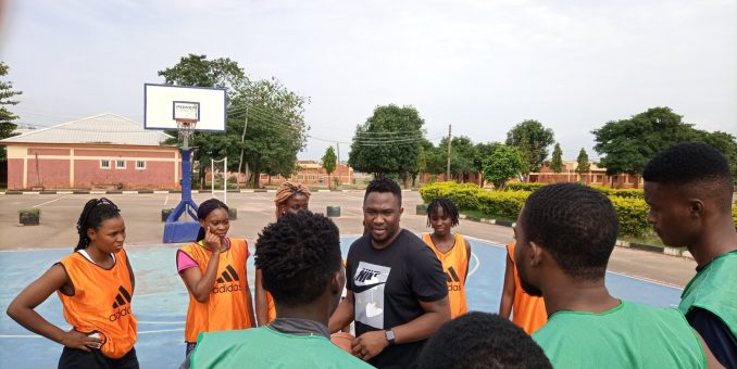 Sam Oguche Visits Titans Basket Academy As Kadunna Tournament Begins Today