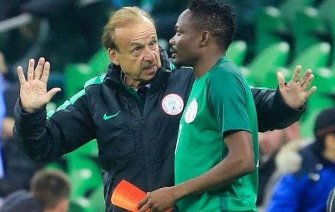 Algeria Defeat: Rohr Remains Positive Despite Eagles Lacklustre Performance