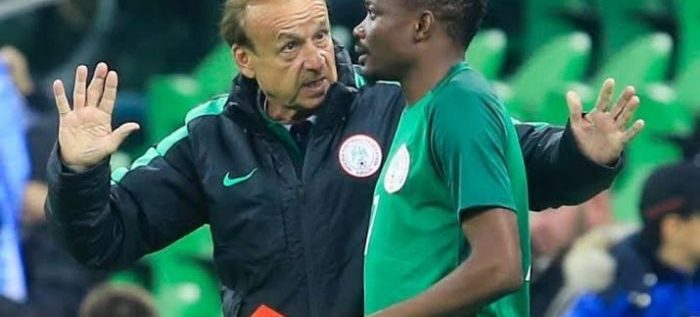 Algeria Defeat: Rohr Remains Positive Despite Eagles Lacklustre Performance