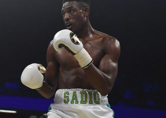 Nigerian Boxer, Sadiq Hospitalised After Losing  WBA Fight