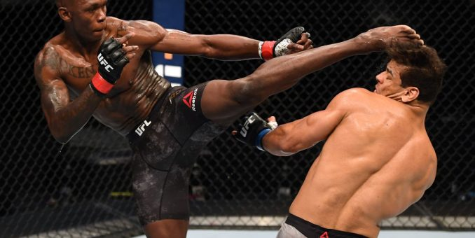 Dare, Abike Others Hail Adesanya Over UFC Title Defence