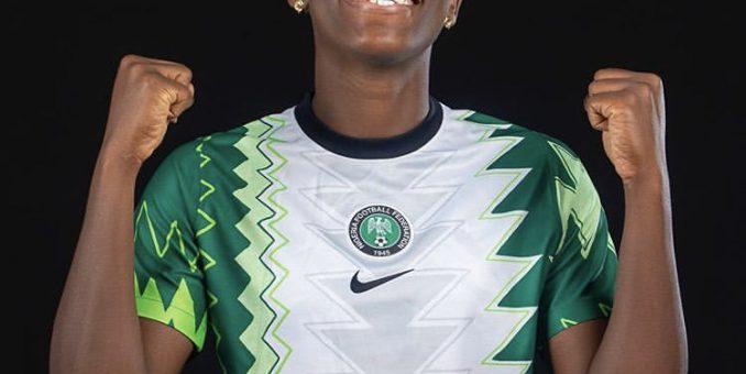 Ndidi, Ekong, Oshoala, Ajibade Dazzle In New Eagles/Falcons Jersey