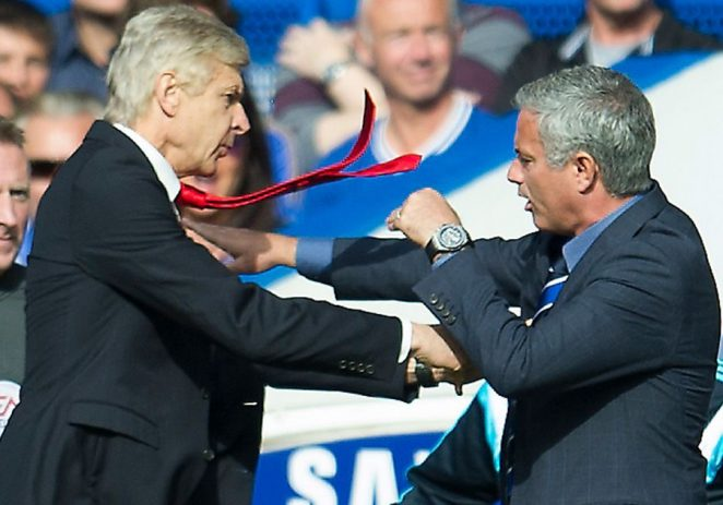 Mourinho Rekindles Wenger's Rivalry