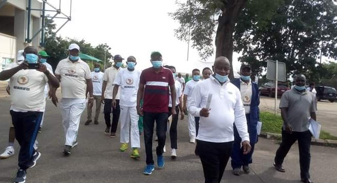 Sports Minister Calls For Regular Walking Exercise To Promote Good Health