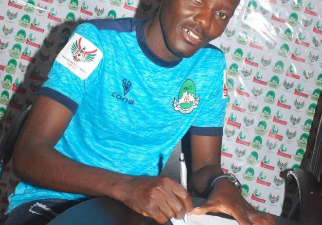 Nasarawa United Unveil Former Kano Pillars Striker, Adamu Hassan