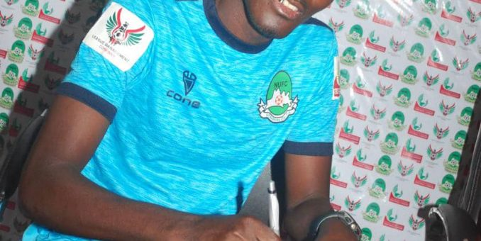 Nasarawa United Unveil Former Kano Pillars Striker, Adamu Hassan