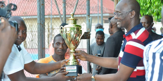 Champions Of Maiden Engr. Sule Tennis Championship Emerge