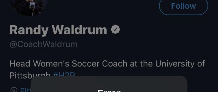 Super Falcons Coach, Randy Waldrum Deactivates Twitter Account
