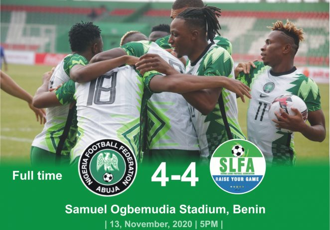 Eagles Depart For Freetown Today, As Osimhen Returns To Italy