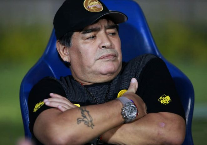 'Football Has Lost One Of Its Greatest Icons – Minister Pays Glowing Tribute To Maradona