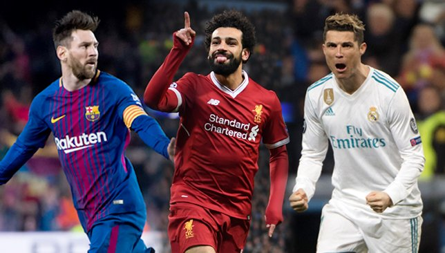 Ronaldo, Messi, Salah, Mane Among 11 Nominees For FIFA Best Men's Player Award