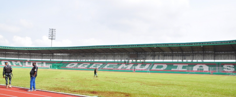 Shaibu, Pinnick Inspect Samuel Ogbemudia Stadium Ahead Of AFCON Qualifier
