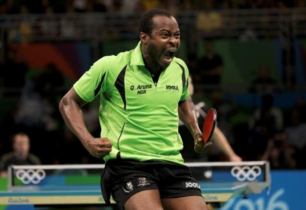 Aruna Quadri Stars As His Club Records victory with TTC in German Bundesliga