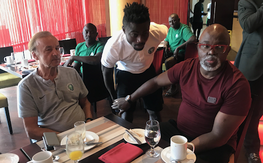 "NFF Dares Dare: ""We Cannot Sack Gernot Rohr"""