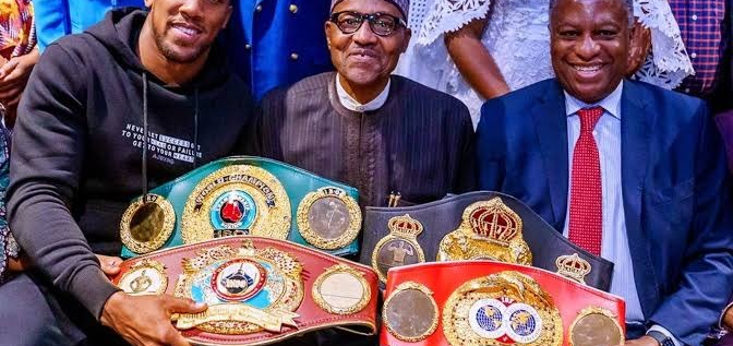 President Buhari Celebrates Anthony Joshua's Victory Over Pulev