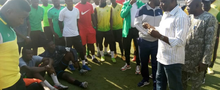 Aftermath Of Home Defeat: Plateau United Place Players On Half Salary