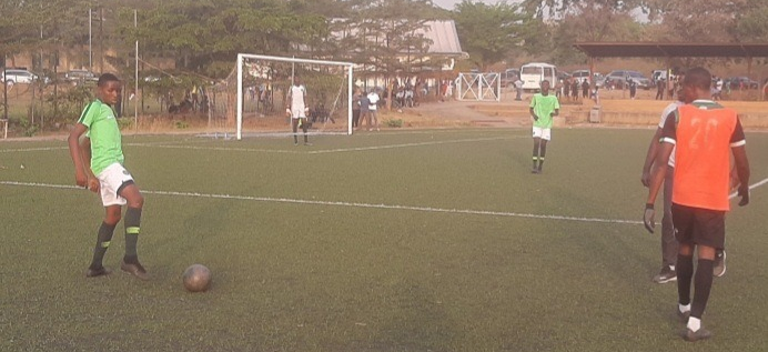 Golden Eaglets Clash With Giant Brillars Ends in Barren Draw