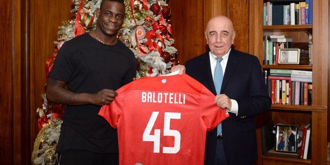 Mario Balotelli joins Serie B Club AC Monza