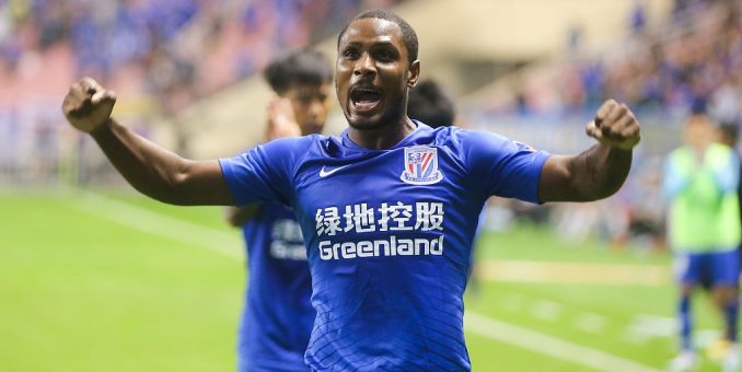 Playing In China Was The Best Moment Of My Career – Ighalo