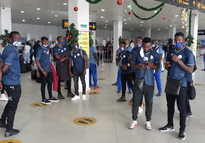 CAF Confederation Cup: Rivers United Depart For South Africa