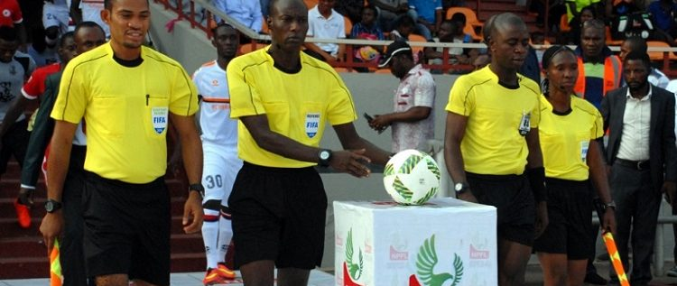 Two Nigerian Referees on CHAN Duty