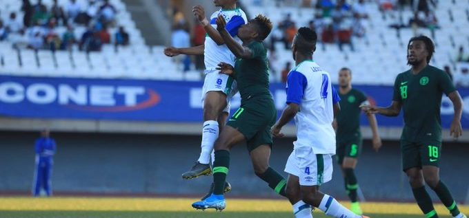 2021 AFCON Qualifier: Lesotho Suspends Football Over COVID-19 Pandemic