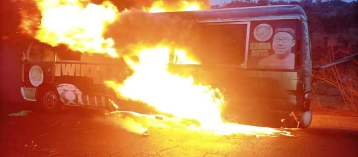 BREAKING NEWS: Wikki Tourists Involved In Ghastly Accident, Bus Burnt To Ashes