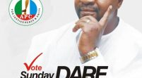 2023 Elections: Sunday Dare's Governorship Posters Flood Oyo State, Social Media