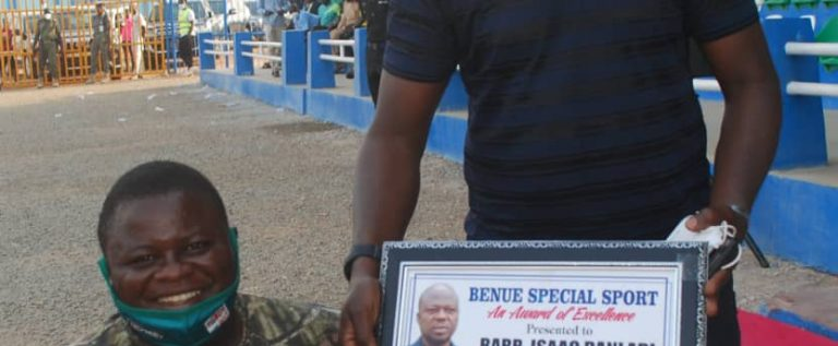 Persons With Disability Honour Nasarawa United Chairman