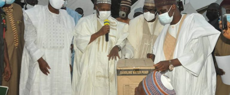 FG Distributes Inputs To Smallholders Farmers In Gombe State