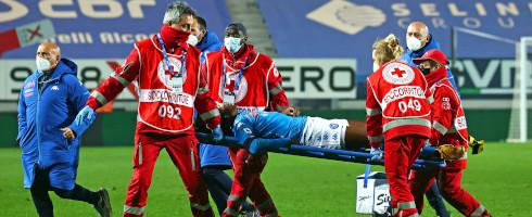 Unconscious Osimhen Rushed To Hospital In Napoli Defeat