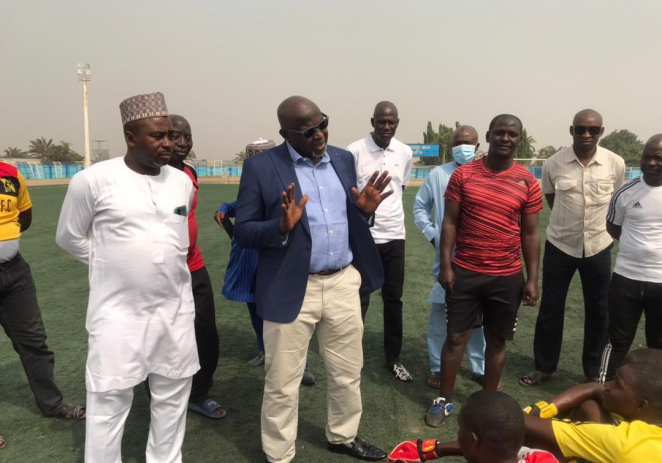 Othman Bala Assures Nasarawa United Of Government's Support
