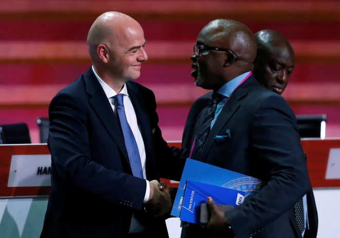 CAF Election: Drama As Two Candidates Step Down In FIFA Council Seat