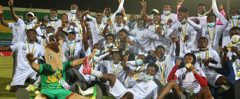 Ghana Emerges U-20 AFCON Champions On Independence Day After Defeating Uganda
