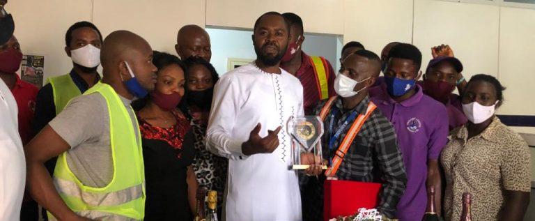 Nigeria Teqball Federation Celebrates Eaglenet Logistics CEO, Vincent Ugochukwu On Birthday