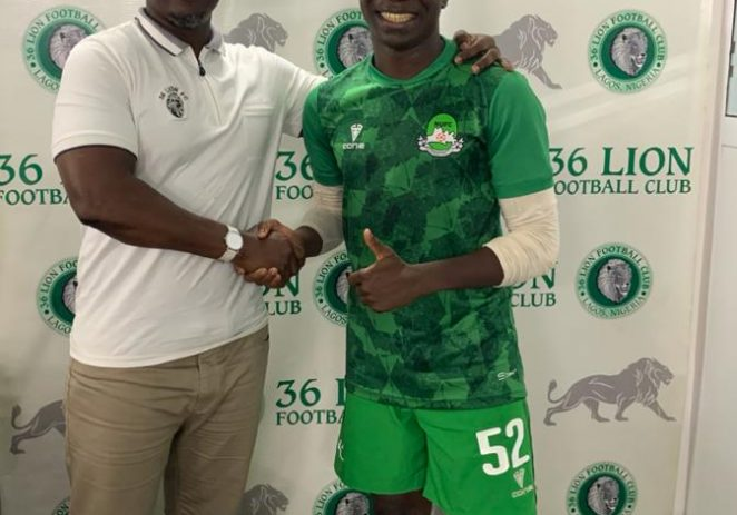 From Journalism To A Professional Footballer: The Story Of How 36 Lion Offered Two-year Contract To SWAN Selected Striker, Jesse Adams
