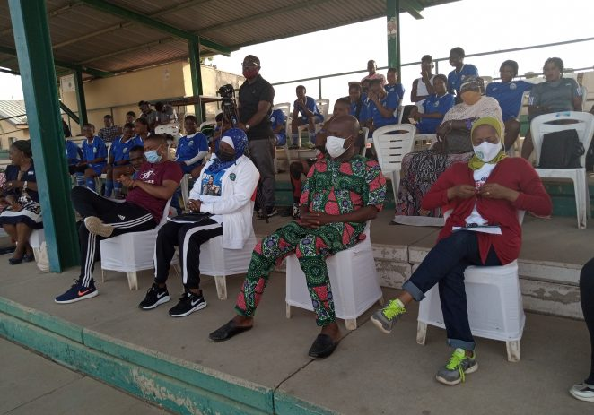 International Women's Day: Ex Falcons Star, Mary Godspower Hold Seminar, Novelty Match For Girl Child In Abuja