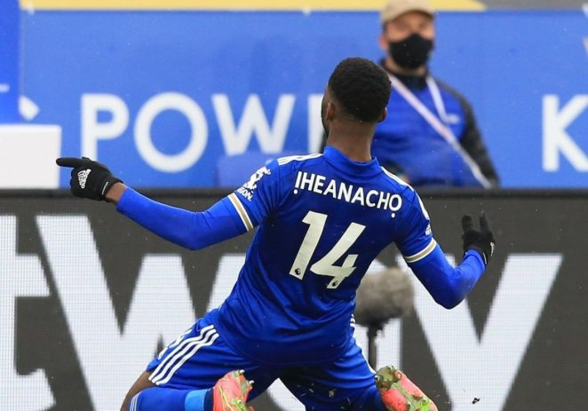 Kelechi Iheanacho Powers Leicester Into FA Cup Final After 52 Years