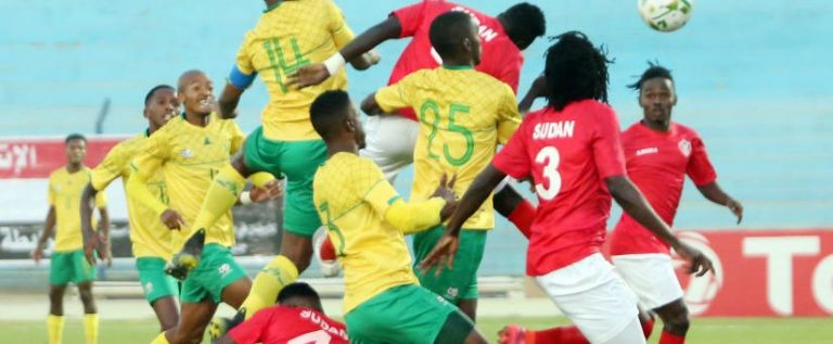 AFCON Qualifiers: Sudan Knocks Out South Africa To Qualify