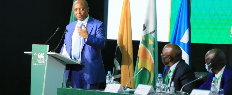 Ahmad Congratulates New CAF President As Motsepe Holds First Meeting