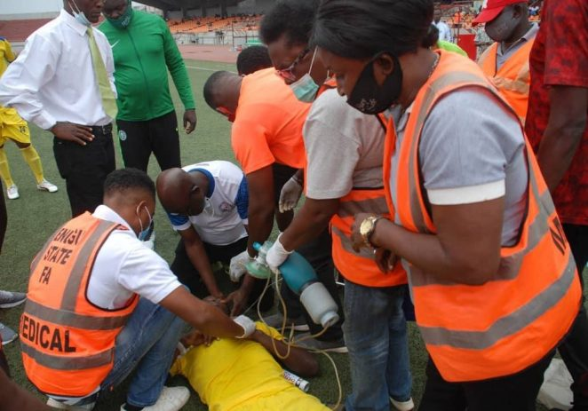 NPFL: How Medical Intervention Saved Player From Death In Enugu