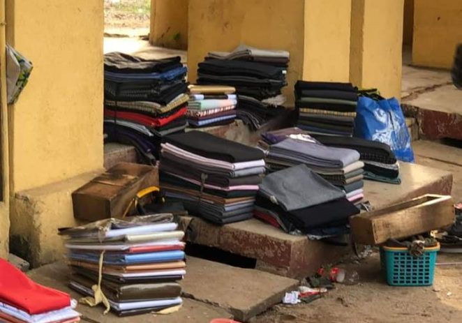 Edo National Sports Festival: How Traders Abandoned Wares In Benin